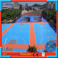 interlocking field basketballer hot sell