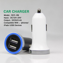 Colorful 3.1A promotional usb car charger dual for phone S4