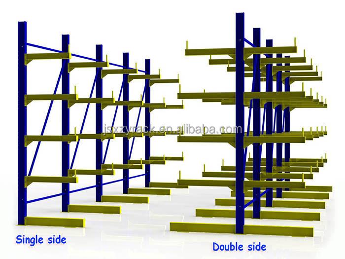 entrep t de stockage r glable bras bois lourd duty cantilever rack etag res et rayonnages. Black Bedroom Furniture Sets. Home Design Ideas