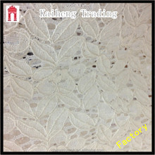 hot sale jacquard nylon cotton blended lace fabric for apparel industry,etc