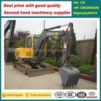V olvo EC55B--mini excavator prices, used excavator for sale