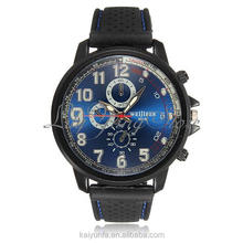 2015 hot sale top 10 wrist watch brands from Shenzhen watch factory