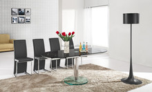 high quality glass dinning room furniture centre table design