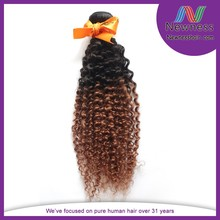 Competitive factory price 100% unprocessed virgin malaysian hair kinky curly clip in hair extensions