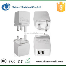 New technology fast shipment 5V 3.1A home charger,us charger for mp3/mp4 player