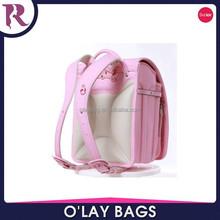 2015 best quality kids body suit japan style school backpack PU knapsack