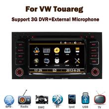 Wholesale ! vw touareg car dvd player with GPS 3G Radio Bluetooth DVD navigation system