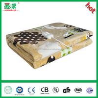 220V flannel electric blanket