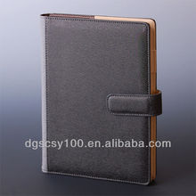 Office supply note pads leather cover