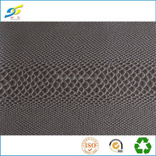 Excellent Material Factory Directly Provide snake grain Leather for Bags Women