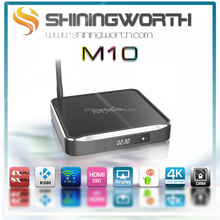 Original factory ! 2015 Latest Metal housing AmlogicS812 Quad core M10 android tv box