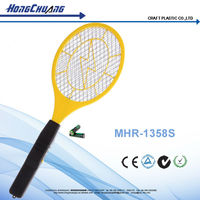 smallest portable AA battery electric bug zapper fly swatter