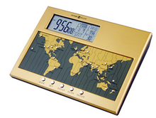 Digital World Time Table Clock
