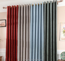 2015 Luxury Fashionable Linen Fabric Curtain