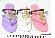 2015 European Grand Prix paragraph the word thong flip flat sandals summer women shoes large size slippers A153-1
