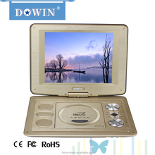 2014 new portable dvd evd with USB/GAME/FM function for CD family