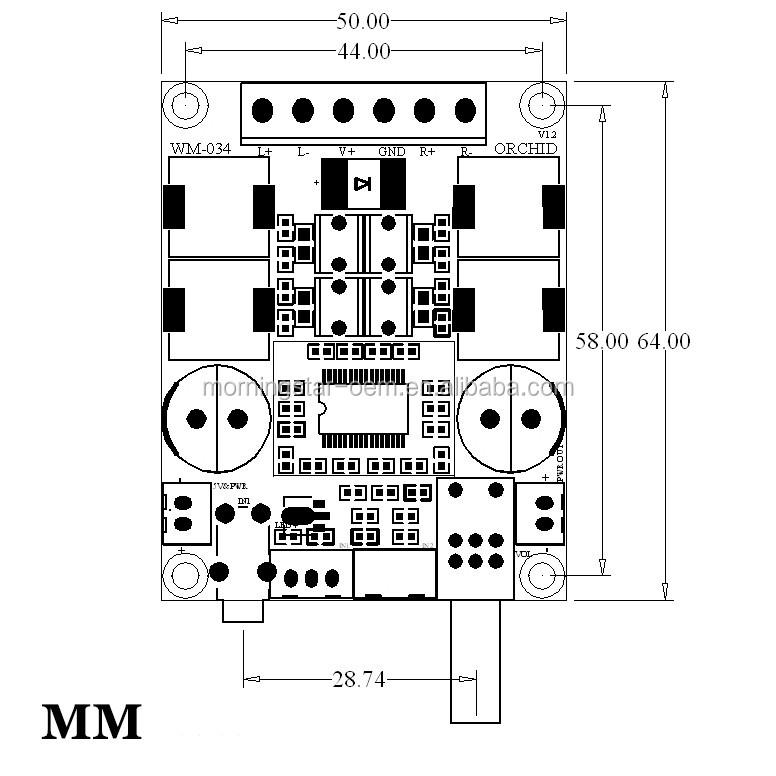 2 0 dual channel tpa3116d2 home audio power amplifier