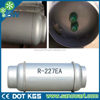 Pure gas HFC-227ea with high quality