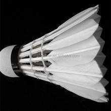 Class A Goose Feather Badminton Shuttlecocks For International Tournament