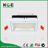 CE RoHS SAA 100lm/w led rectangular downlight led 150w metal halide replacement