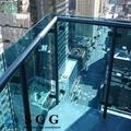 excelente calidad de vidrio laminado para el ferrocarril