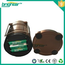 camping light 3XAA size batteries 6led rechargrable camping lantern