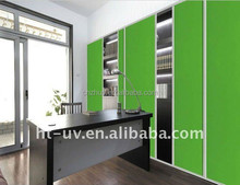 glossy uv color painting mdf for wardrobe doors