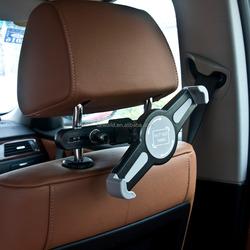 car seat 360 degrees rotation headrest mount holder for universal tablet pc