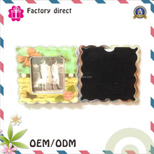 Foshan factory custom photo frame fridge magnet/new design tourist souvenirs