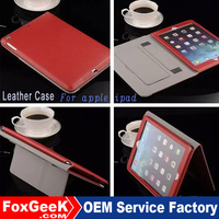 Hot new products for 2015 tablet leather case for iPad 5, shockproof case for tablet, tablet case for ipad air 2/for ipad 6