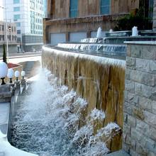 Outdoor Waterfall Fountain, Wall Fountain Artificial Waterfalls For Watching
