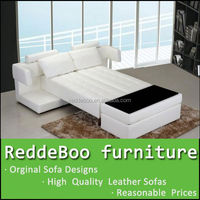 new design three seat sofa that can convert into a bed