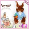 Custom stuffed plush toys rabbit peter rabbit plush rabbit