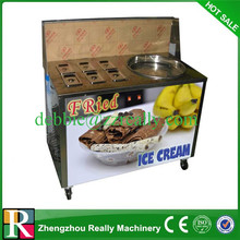 Single pan, double pan, various kind of fried ice cream maker
