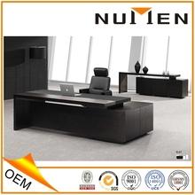 elegant solid wood office furniture manager wood desk