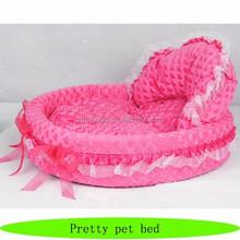 Princess pet dog beds, wholesale dog dry bed, pretty elegant dog bed
