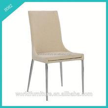 fabric seat chromed legs fabric to upholster dining room chair