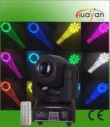 Infrared remote control DJ equipment mini disco moving head spot light / 12W mini spot moving head / stage mini moving head