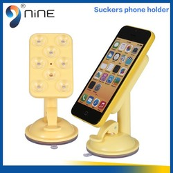 Wholesale Price Colorful 360 Degree Rotating Silicone Mobile Phone Stand Holder