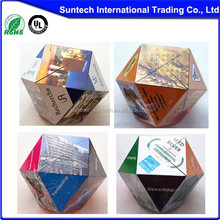 New Products Magic Folding Cube plastic 3d puzzle cube for kids