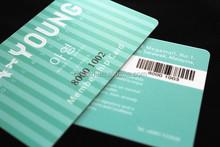 2015 Hot sell fashion barcode card