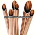 Tubo capilar/ranura interna del tubo de cobre