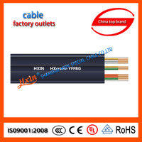 IEC Standard CCC Certified Electrical Wire cable flat for hoist