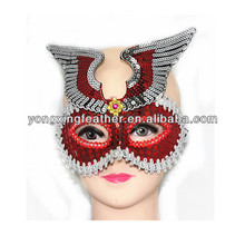 cheap mask with wing decoration