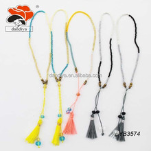 Good Quality Glass Tassel Seed Bead jewelry Bracelet wholesale
