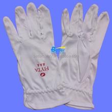40S Bleach Cotton Parade Pattern Inspectors Gloves, Etiquette Gloves