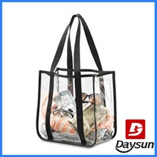 Clear Cosmetic Tote Washing Bag PVC Laundry Bag