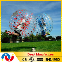 Cheap funny human size loopy ball soccer bubble ball