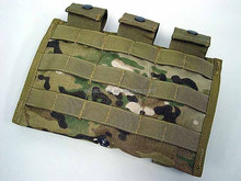 airsoft molle double pouch