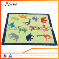Promotional microfiber glasses cleaning cloth